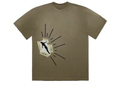 Sold Out Travis Scott - Highest In The Room - Dive Tee Mens Large *in Hand*