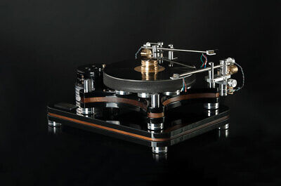 Small Audio Manufacture Renegade Turntable With Sam Tonearm Belt Drive 33.3/45
