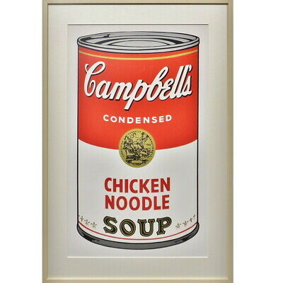 Otara And Art Gallery Andy Warhol Campbell Soup Chicken Noodles Still Life With