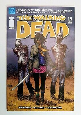 The Walking Dead 19, 1st Michonne App, Key Higher Grade Vf/nm, 2005 First Print