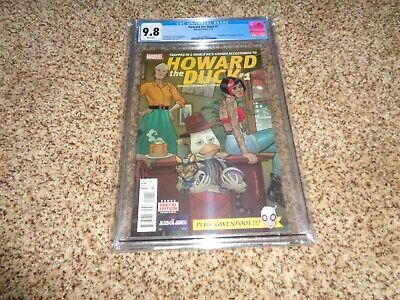 Howard The Duck #1  Cgc 9.8 White Pages First Appearance Of Gwenpool
