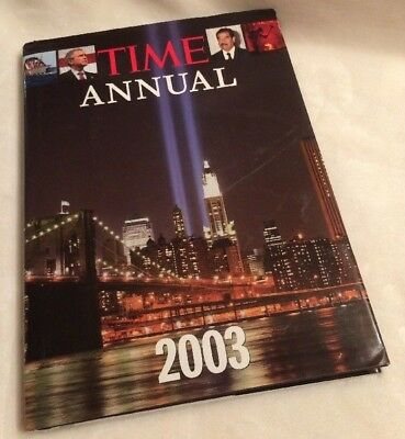 Time: Annual 2003 Year In Review  Obama Israel Iraq War News Elections $30 Value