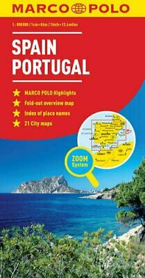 Marco Polo - Spain Andamp; Portugal Map