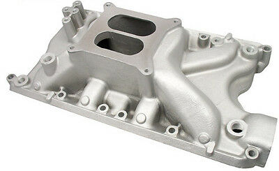 Pc Sbf Small Block Ford 351w Windsor Dual Plane Qualifier Intake Manifold Satin