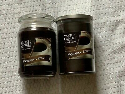 2- Yankee Candle Morning Roast Coffee New 22 Oz Each