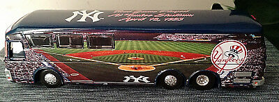 Mint 2001 White Rose Collectibles Yanks Bus 1st Game At Yankee Stadium Hard2find