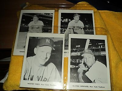 Vintage Yankee Photos (12 Total) (ex. Condition) ....auct#1378