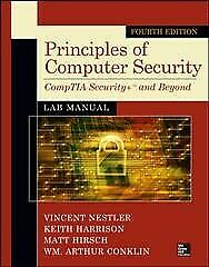 Principles Of Computer Security, Paperback By Nestler, Vincent; Harrison, Kei...