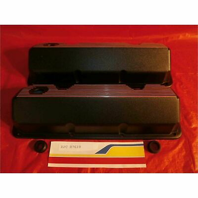 Racing Power (rpc) R7639 Engine Valve Covers Ford 351 Cleveland All Fins V/c