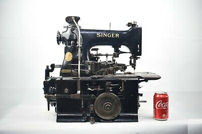 Rare Singer 99w75 Vintage Keyhole Buttonhole Industrial Sewing Machine 1920s