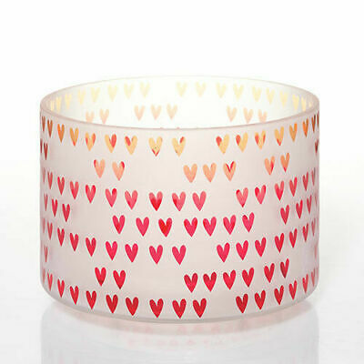 Yankee Candle Dreaming Of Love Hearts Jar Candle Barrel Shade New Valentines Day