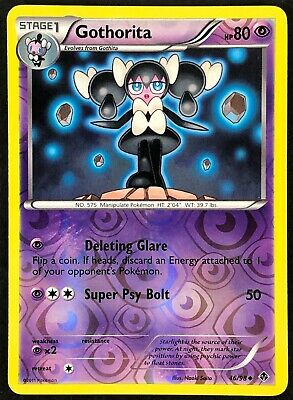 Pokemon Card Gothorita Emerging Powers 46/98 NEAR MINT Reverse Holo Uncommon TCG