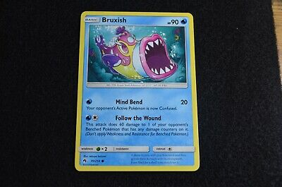 Pokemon BRUXISH Sun & Moon Lost Thunder 70/214 NM/Mint Never Played