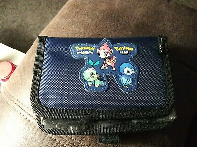 2007 Official Nintendo DS Pokemon Diamond and Pearl Case Switch N Carry Case