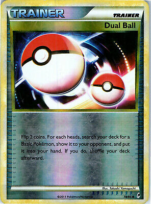 Call of Legends Reverse Holo Dual Ball 78/95 Pokemon Trading Card MP / HP