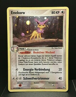 Enekoro Holo | EX Legend Maker | Near Mint- | deutsch | Delcatty | Pokemon