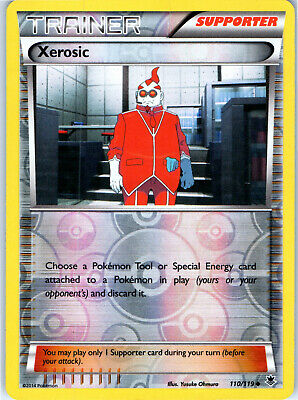 Phantom Forces Xerosic 110/119 Reverse Holo Pokemon Trading Card LP NM