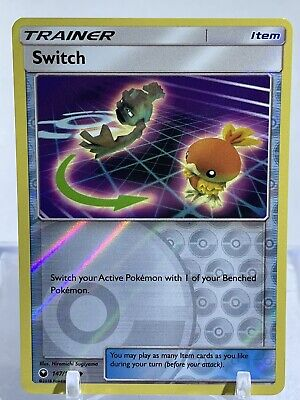 Switch  147/168 S&M: Celestial Storm  Reverse Holo  nm/mint Pokemon