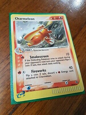 Charmeleon 99/97 Holo Ultra Secret Rare, Ex Dragon e-Series, Pokemon Card, LP/MP