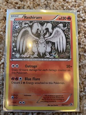 Pokemon Reshiram 28/113 - Legendary Treasures Set - Rare Holo
