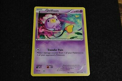 Pokemon DRIFLOON XY Steam Siege 46/114 NM/Mint Never Played Cards