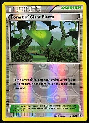 Pokemon Card Forest of Giant Plants Ancient Origins 74/98 NM Reverse Holo TCG!!!