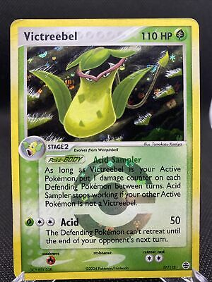 NM Victreebel 17/112 Reverse HOLO EX FireRed & LeafGreen Pokemon