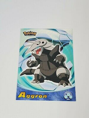 Topps Pokemon Advanced 2003 Aggron # 10 Power Keepers Card Never Played