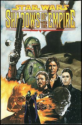 Star Wars Shadows Of The Empire Limited To 1000 Signed Numbered Hardcover Hc Hb