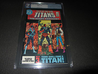 Tales Of The Teen Titans 44 Pgx 9.4 Signature Series (perez) 1st Nightwing(cgc)