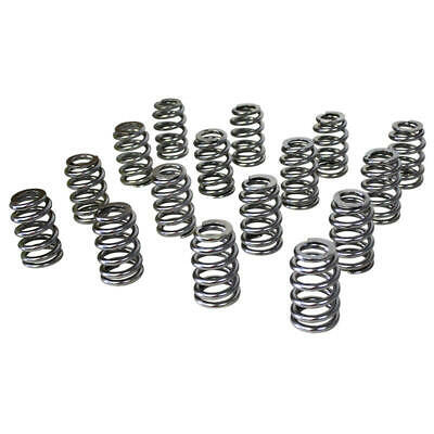 Howards Valve Spring Set 98114; Electro Polished Beehive 412 Lbs/in Single