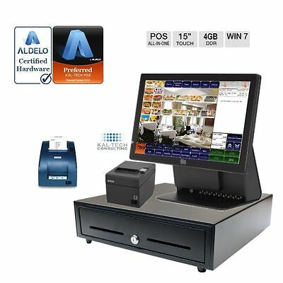 Aldelo Elo All-in-one Pos Package For Chinese Food Restaurant 4gb Ram Ssd Drive