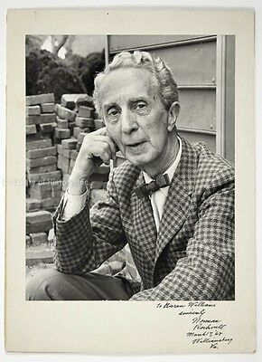 Norman Rockwell - Inscribed Photograph Mount Signed 03/17/1968