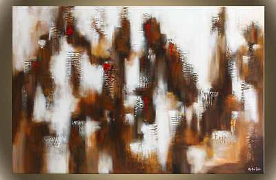 """Victor Zag - Big City Lights  - Abstract Painting - Giclee Reproduction 30""""x60"""""""