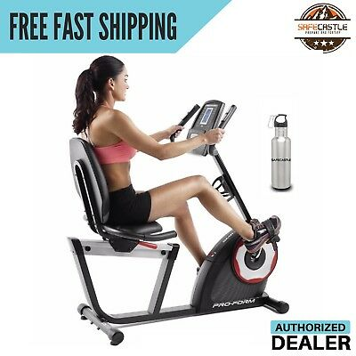 Proform 235 Csx Recumbent Bike(pfex52715)-with Free Stainless Steel Bottle