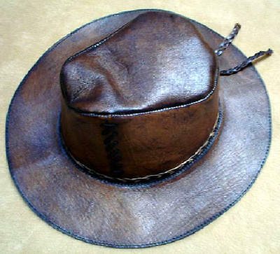 100 indiana jones hats, leather of sheep, handmade.