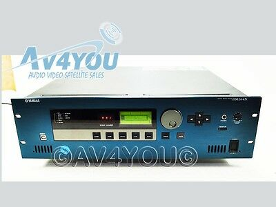 Yamaha Dme64n Programmable Digital Mixing Engine 4x My8-da96 Expansion Cards #7