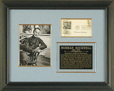 Norman Rockwell - First Day Cover Signed