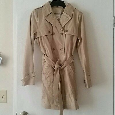 Hare + Hart Leather Treanch Coat New