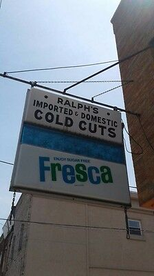 Vintage Large Fresca Soda Sign For Store Light Electrical 5 Ft W Wall Mount Rare