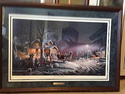 Winter Wonderland Limited Edition Print Signed And Numbered  By Terry Redlin