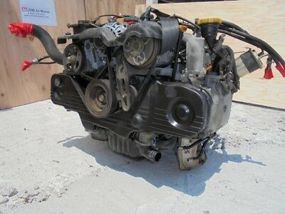Jdm Subaru Forester Sf5 Ej20 Sohc Na Non Turbo Engine Only Long Block 2.0l