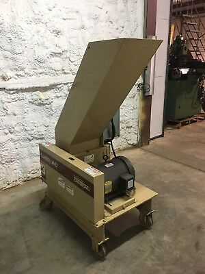 Cumberland Plastics Machinery John Brown 8x12 3kn 3 Hp Granulator 72400