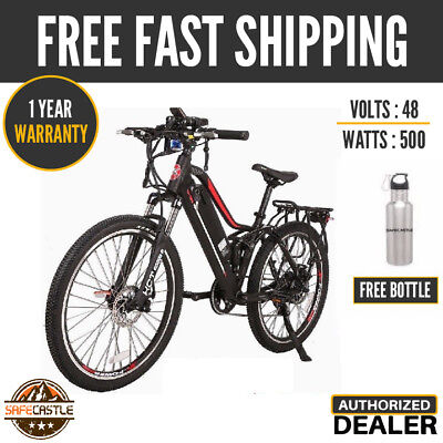 X-treme Sedona 48v High Power Electric Mountain Bicycle W/ Free Bottle