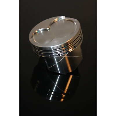 """Dss Racing Piston Set 4017x-4030; Gsx 4.030"""" Bore Forged Dish For Ford 302 Sbf"""