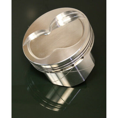 """Dss Racing Piston Set 4389x 4185; Gsx 4.185"""" Forged Dish For Ford 363 Stroker"""