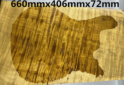 e 595mmx380mmx90mm 5a quilted maple guitar top/body/table top woodworking timber