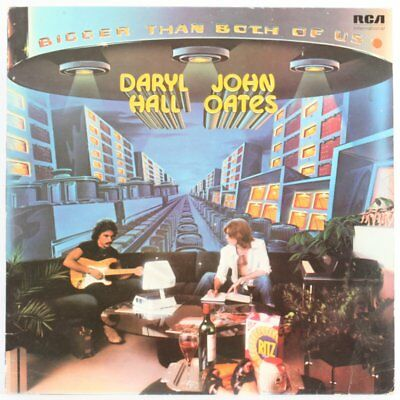 Daryl Hall And John Oates, Bigger Than Both Of Us  Vinyl Record/lp *used*