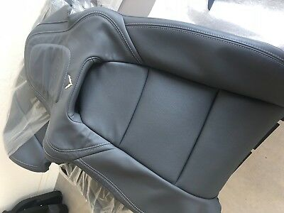 Corvette C7 Grey Leather Seat Covers. Like New