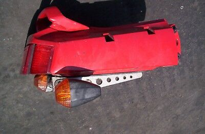 1997 Kawasaki Ninja Ex250 Tail Section --red--luggage Hooks-rear Lite*** 1988-06